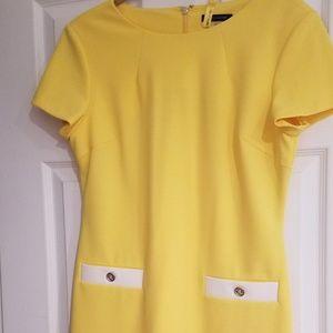Tommy Hilfiger Faux Pocket Shift Dress